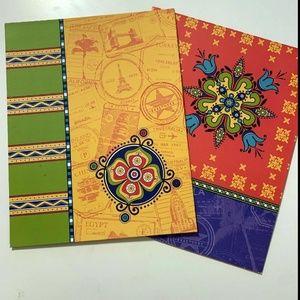 2 Pck Top Flight Lucky Girl 2 Pocket Folder